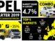 Opel mercato veicoli commerciali