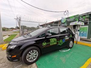 BYD Taxi elettrici Panama