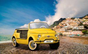 "Hertz Fiat 500 Jolly ""Spiaggina"" Icon-e by Garage Italia"