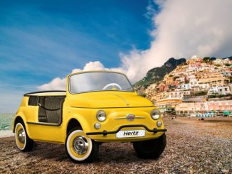 "Hertz Fiat 500 Jolly ""Spiaggina"" Icon-e by Garage Italia"