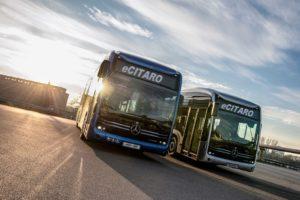 Mercedes Benz eCitaro al Global Public Transport Summit