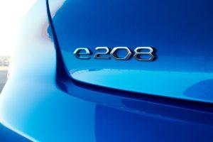 Peugeot e-208 full-electric