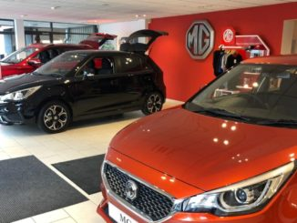 Tustain Motors e MG Motor UK