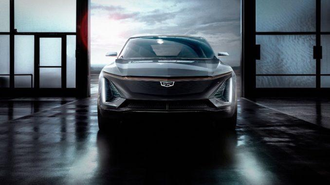 Cadillac electric Show Car