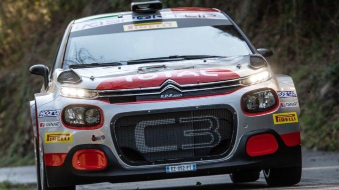 Citroën C3 R5 Rally Italia Sardegna