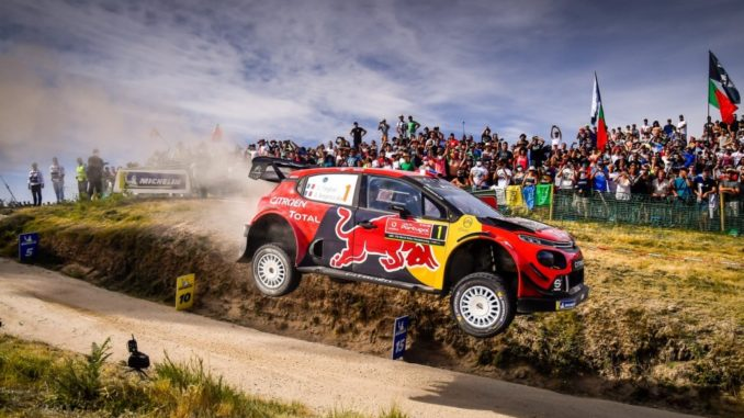 Citroën Total World Rally Team Rally Portogallo