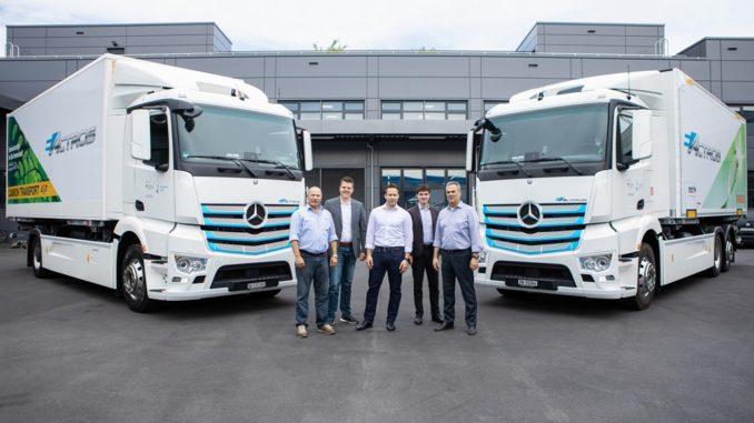 Mercedes-Benz eActros Migros