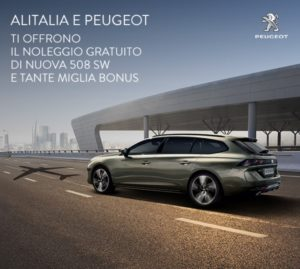 Peugeot 508 SW Alitalia
