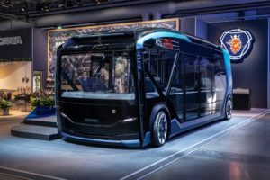 Scania concept electric