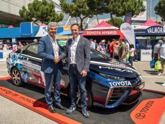 Toyota ENI idrogeno