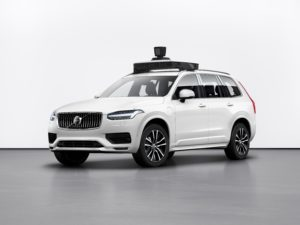 Volvo Cars e Uber