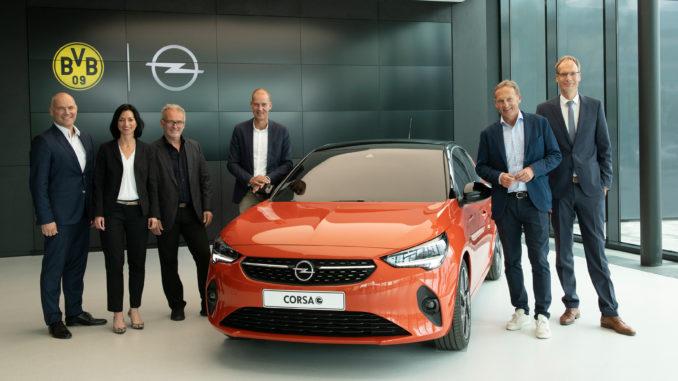 Opel Corsa e Borussia Dortmund
