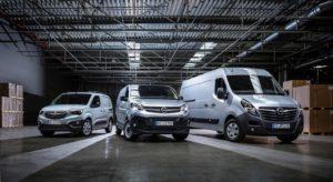 nuova gamma di veicoli commerciali Opel