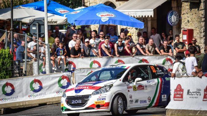 Tommaso Ciuffi e la Peugeot 208 R2B vincono il Rally di Roma Capitale