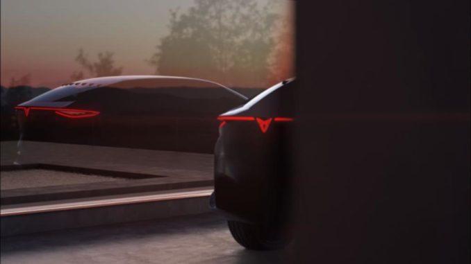 Cupra concept car elettrica
