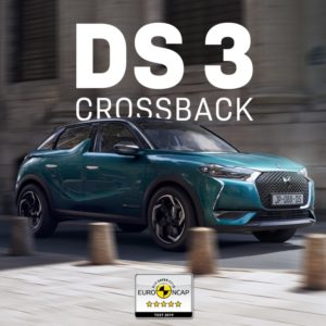 DS 3 Crossback Euro NCAP