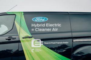 Ford Transit Custom Hybrid Plug-in (PHEV)