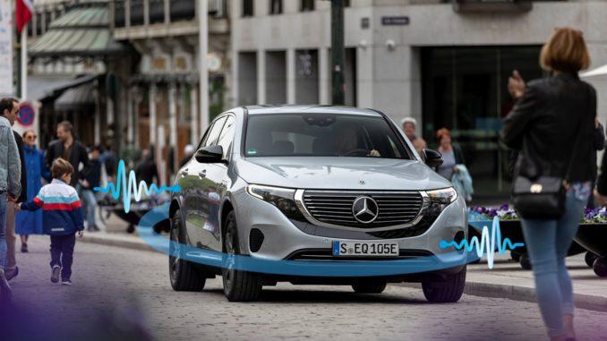 Mercedes-Benz sistema di allarme acustico per veicoli
