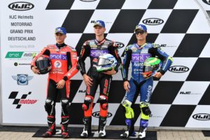 Moto E Sachsenring qualifying