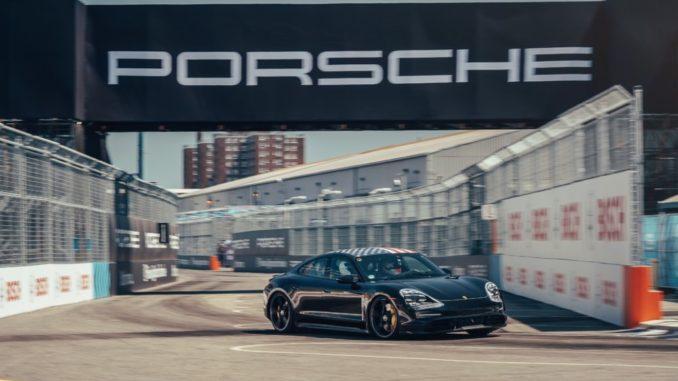 Porsche Taycan New York