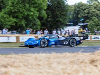 Volkswagen ID.R record Goodwood