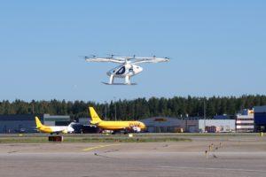 Volocopter all'Aeroporto Internazionale di Helsinki