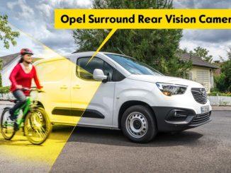 nuova telecamera Opel Combo Cargo