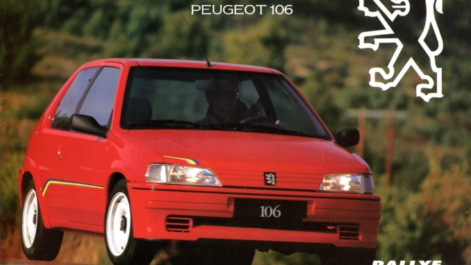 Trofeo Promozionale Peugeot
