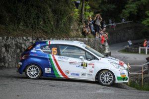 Tommaso Ciuffi e la Peugeot 208