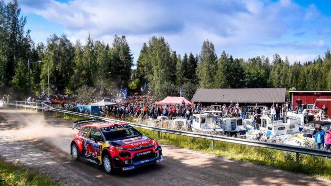 Citroën C3 WRC Rally Finlandia