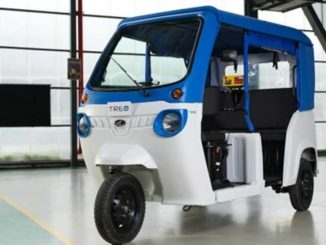 Mahindra electric rickshaw