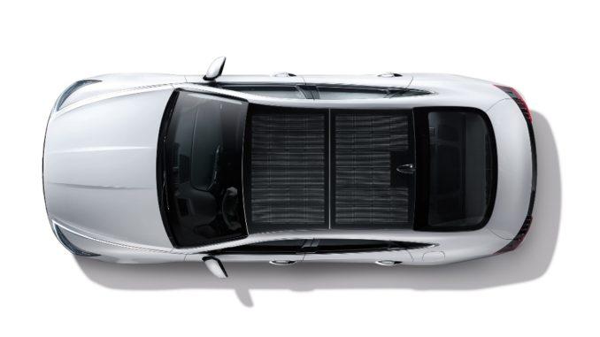Hyundai Sonata Hybrid solar roof