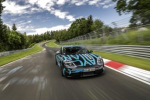 Porsche Taycan Nürburgring Nordschleife