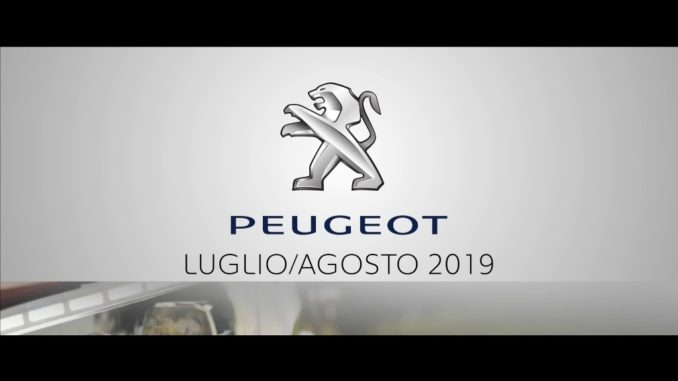 Peugeot Luglio agosto 2019