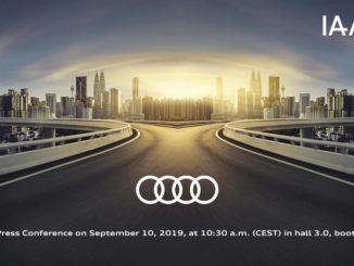 Audi Salone Francoforte