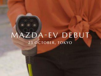 Mazda EV Tokyo Motor Show