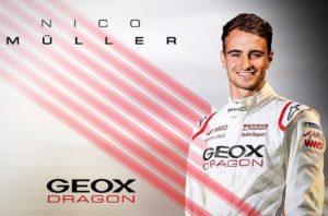 Geox Dragon ha annunciato Nico Müller