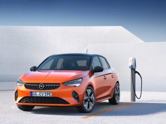 ricarica Opel Corsa-e