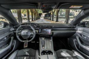 Nuova Peugeot 508 SW sulle strade trevigiane del Prosecco