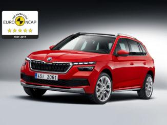 Škoda Kamiq EuroNCAP
