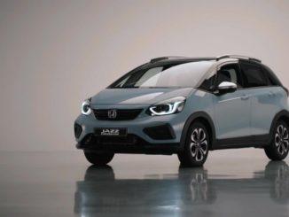 Nuova Honda Jazz ibrida