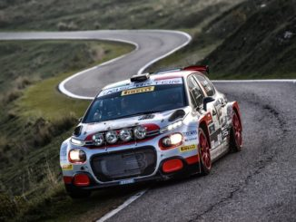 Rally Due Valli al team Rossetti-Mori con la Citroën C3 R5