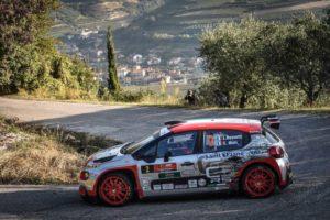 Rally Due Valli al team Rossetti-Mori con la Citroën C3 R5