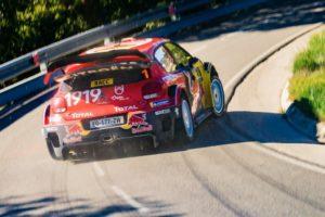 Citroën Total World Rally Team dopo il Rally di Spagna