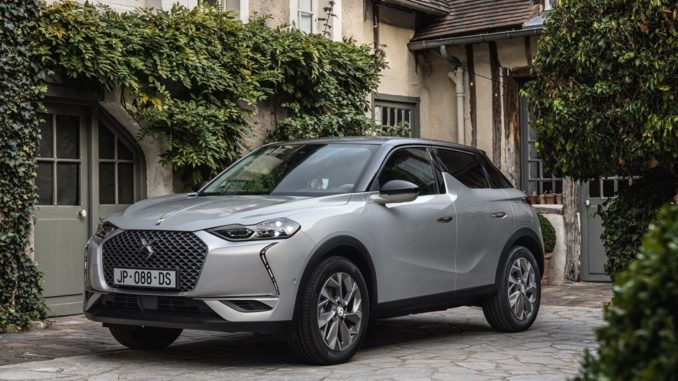 DS 3 Crossback – E-Tense