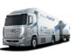 Il camion a celle a combustibile Hyundai H2 Xcient