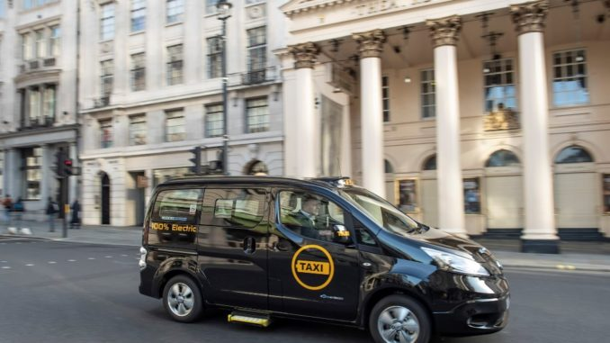 Dynamo e-taxi London