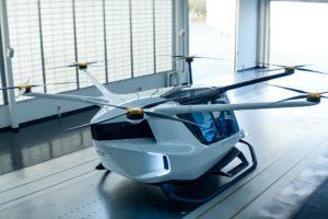 L'elicottero Skai a idrogeno