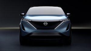 concept crossover elettrico Nissan Ariya
