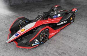 nuova livrea delle Nissan di Formula E